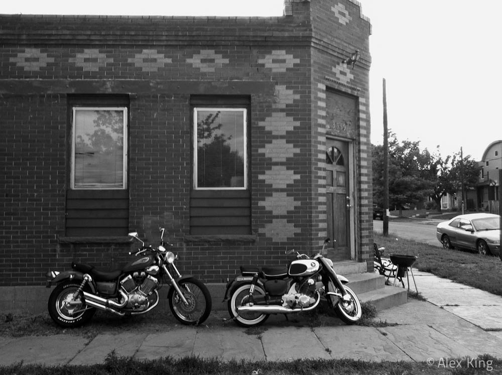Bikes (Black and White)