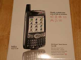 The Treo 600 box.