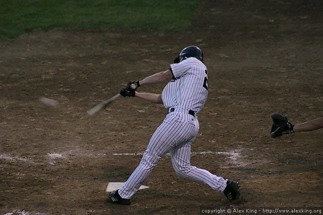 Nice swing.