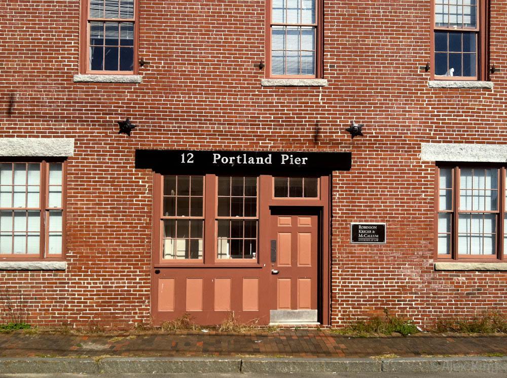 12 Portland Pier