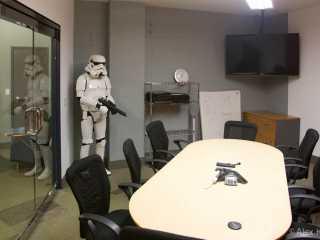 Conference Room Stormtrooper