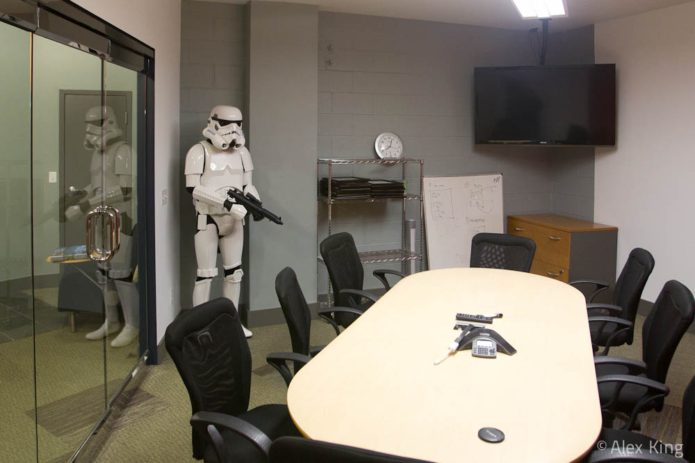 Conference Room Stormtrooper