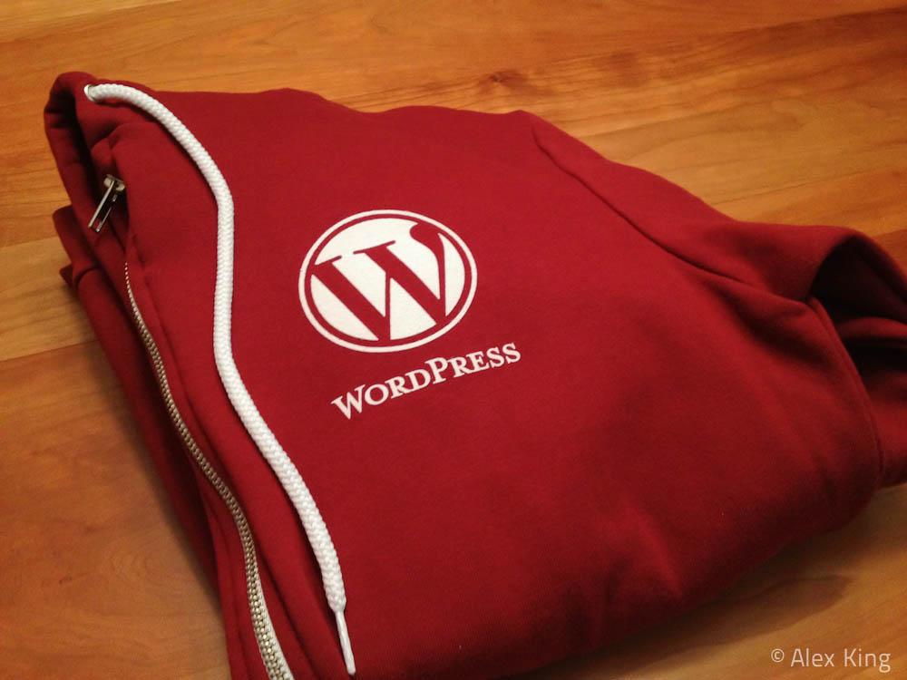 WordPress Hoodie