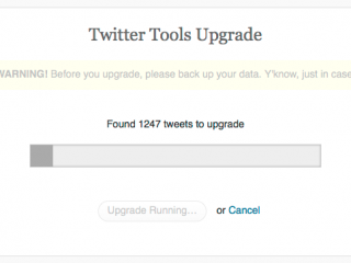 tweet-upgrade-running
