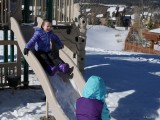 Snowy Slide