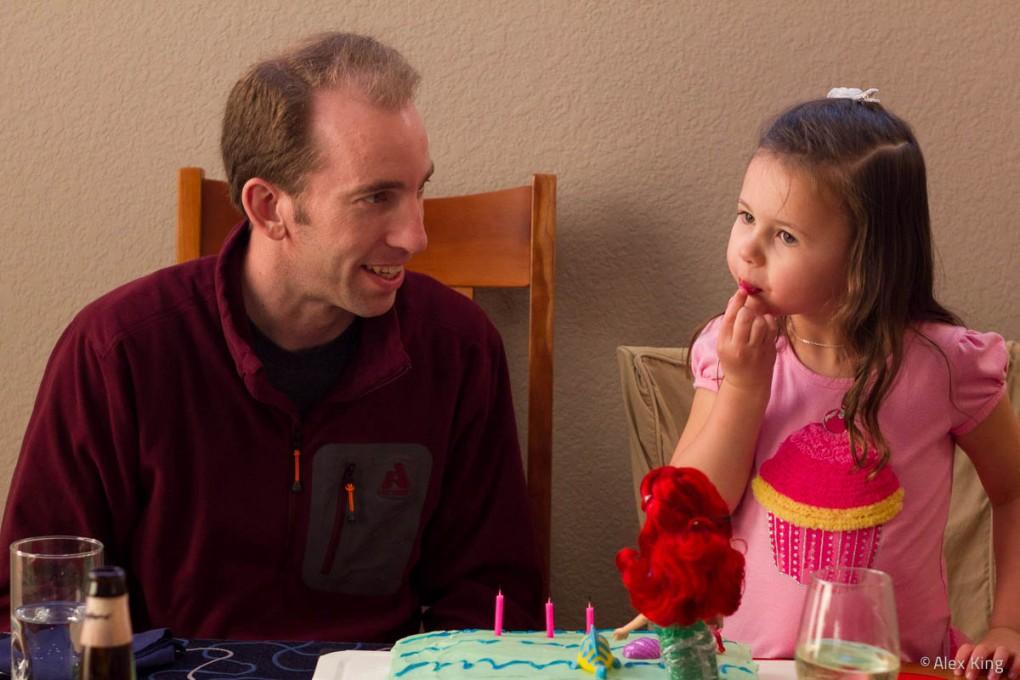 Caitlin turns 4