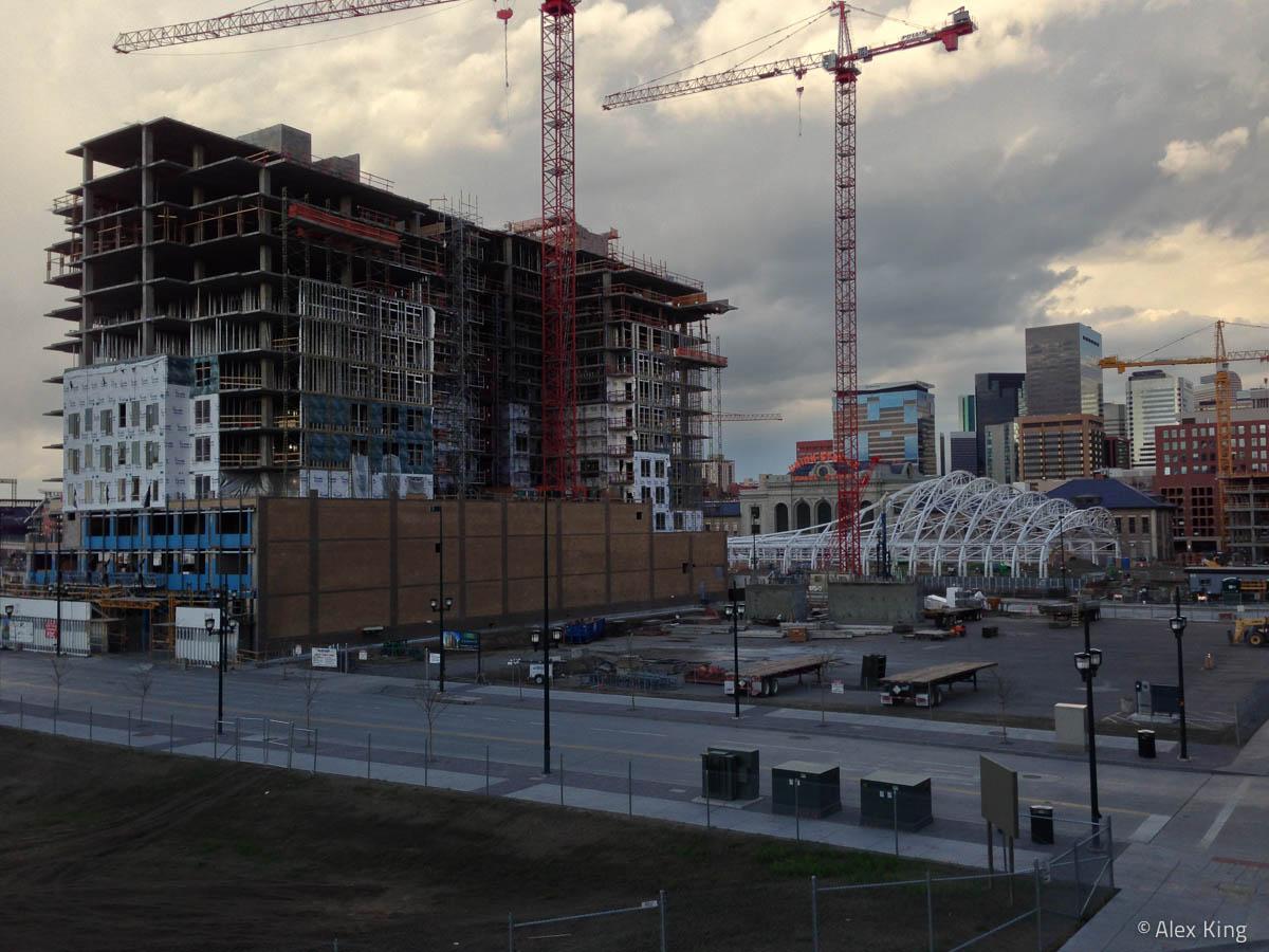 Downtown Denver Construction