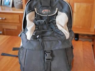 Lowe Pro bag (front)