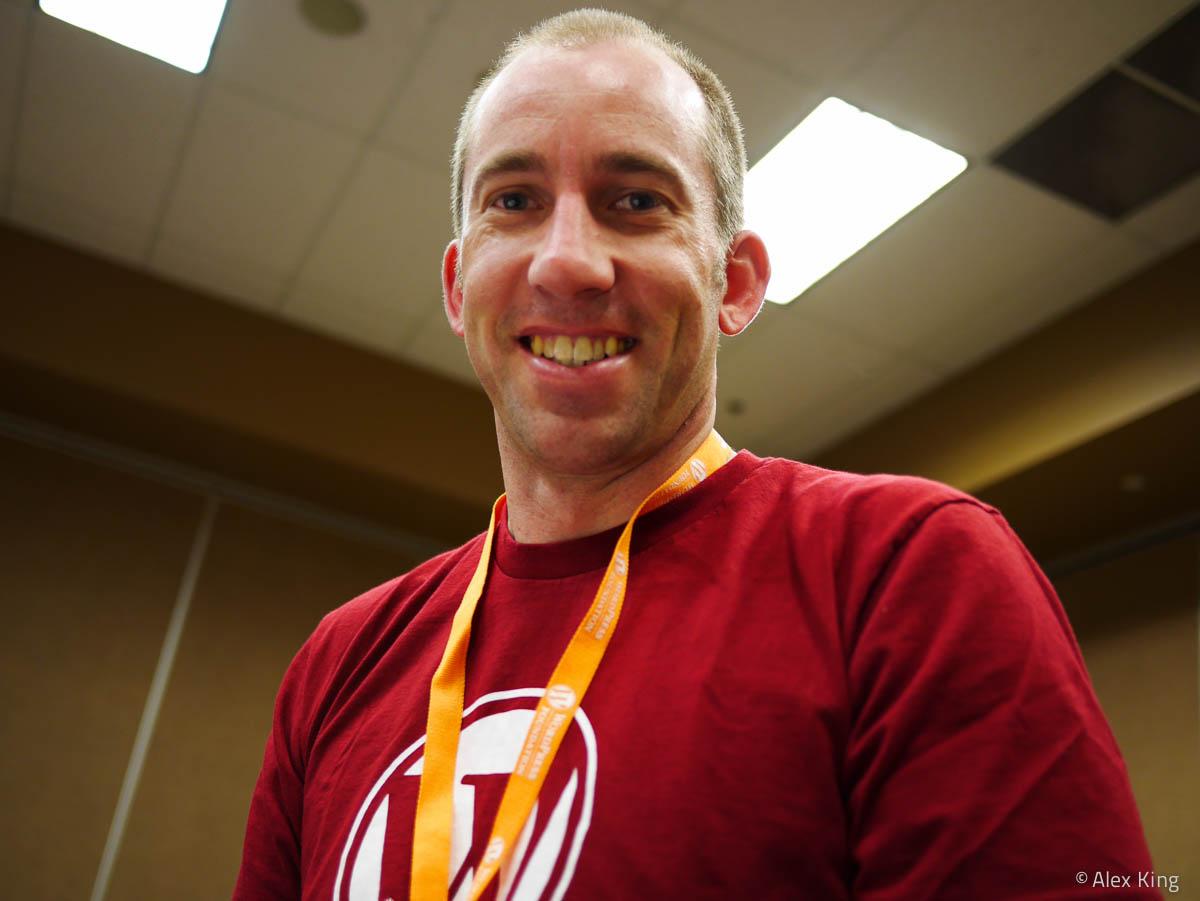 At WordCamp Denver