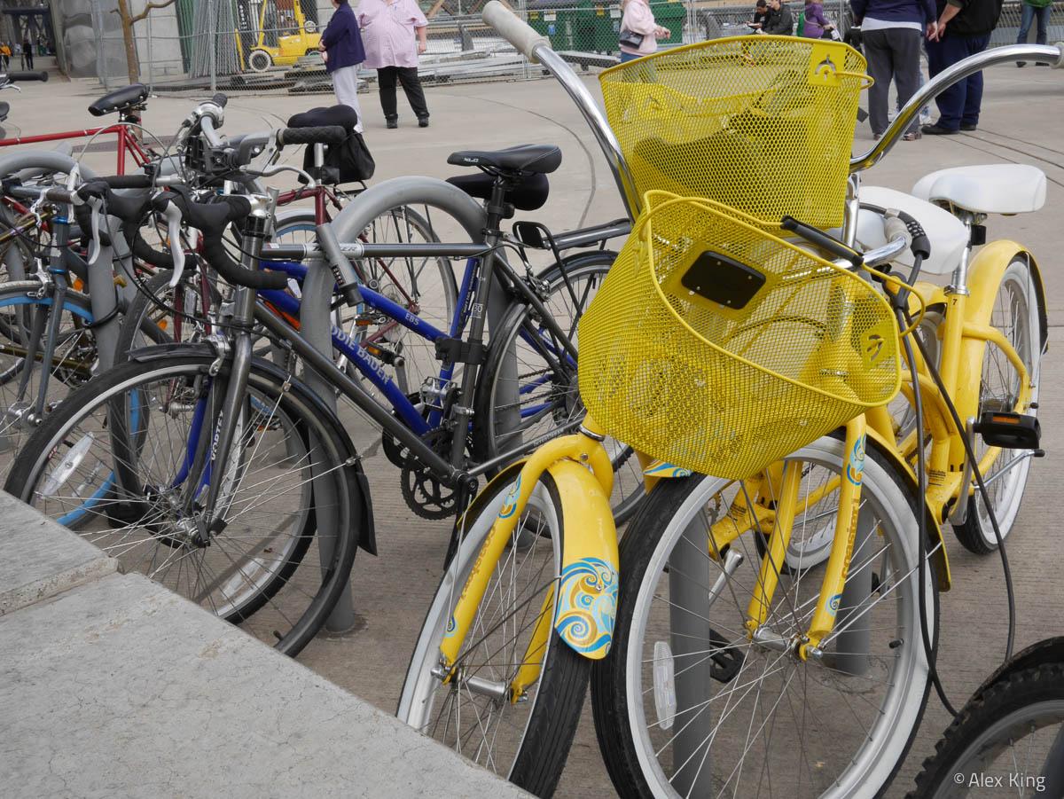 Yellow Bike #1