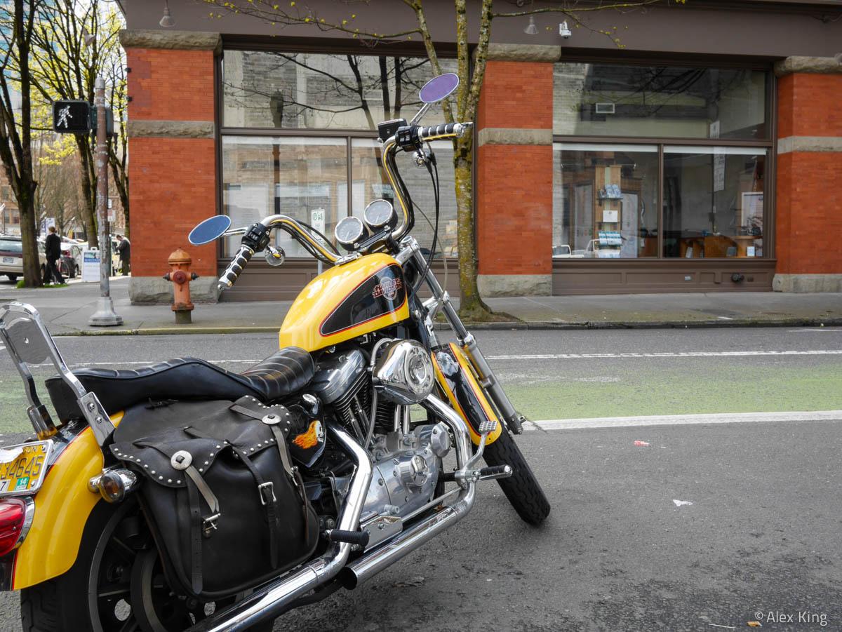 Yellow Bike #2