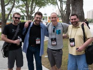 Jason, Karim, Noel and Bogdan