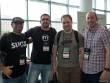 With Dre Armeda, Shane Sanderson and Brad Williams