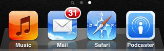 iOS Mail Icon (Red Badge)